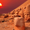 Всемирное наследие Немрут-Даг привлекает 52 000 туристов в юго-восточной Турции
