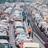 Туристы, внимание! Жители Стамбула тратят девять часов в неделю на пробки!