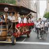 «Пивные велосипеды» запрещены в Амстердаме после жалоб местных жителей на шумных туристов