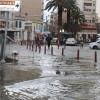 Шторм и ветер превратил часть Измира в озеро
