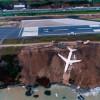Пассажирский самолет в Трабзоне соскользнул с взлетно-посадочной полосы вниз по набережной