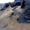 Опасные золотистые волоски покрывают область вулкана Килауэа на Гавайях