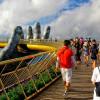 Золотой мост во Вьетнаме «В руках богов» становится туристическим хитом