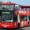 В Барселоне двое туристов попали в ДТП на угнанном автобусе