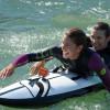 Три экстремалки отправились в заплыв от Чили до Антарктиды на доске для серфинга