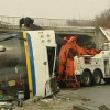 Авария туристического автобуса во Франции, 7 человек травмированы