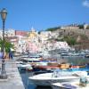 Остров Искья в Неаполитанском заливе Италии