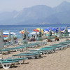 Реконструированная пляжная зона Коньяалты в Анталье стала бесплатной
