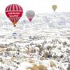 Прогулки на воздушных шарах в Каппадокии теперь доступны и зимой