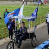 Солнечный велосипед «Гелиос» преодолел без подзарядки 200 км в рамках велопробега