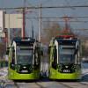 Трамвай «Чижик» начал перевозить пассажиров бесплатно