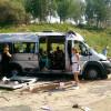 ВИркутске перевернулась маршрутка с17 пассажирами