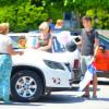 В Анталии прошел автопробег в честь 70-летнего юбилея Победы