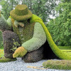 23 апреля в Анталии пройдет крупнейшая в мире выставка скульптур из живых растений