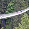 Мост Капилано в Канаде – висящий на высоте 70 метров над рекой