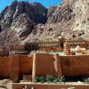 Древняя библиотека и мозаика в Египетском монастыре открылись после ремонта