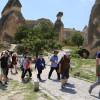 Тысячи китайских туристов стекаются в Каппадокию в Турции