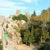 Посещение мавританского замка в Синтре, Португалия