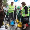 Сотни турков собрались вместе для Всемирного дня чистоты