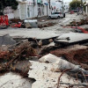 Наводнения частично разрушили курортный город Бодрум