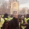 Ума Турман стала участницей парижских митингов протеста