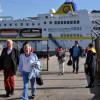 Первый круизный лайнер прибыл в Муданью