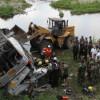 Автобус с корейскими туристами рухнул в реку в Китае, 11 погибших, 17 раненых