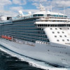 Грандиозный круизный лайнер Regal Princess совершил свой третий заход в порт Стамбула