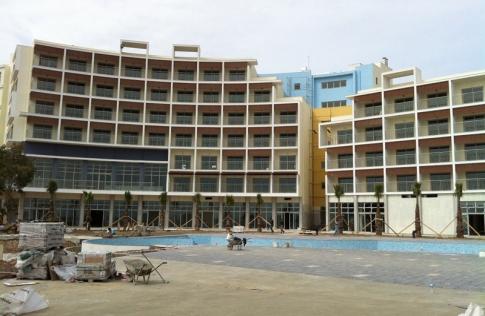 строительство очередного отеля в анталии