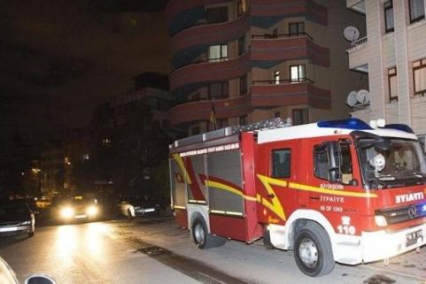пожар в украинском посольстве