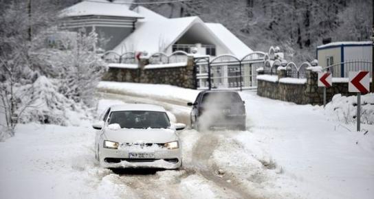 восток турции засыпает снегом