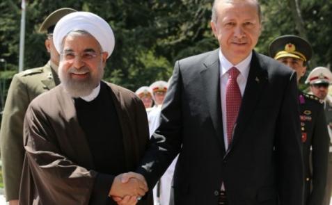 Реджеп Тайип Эрдоган в Тегеране