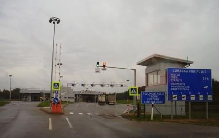 пограничный пункт в Ивангороде