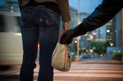 кража сумочки