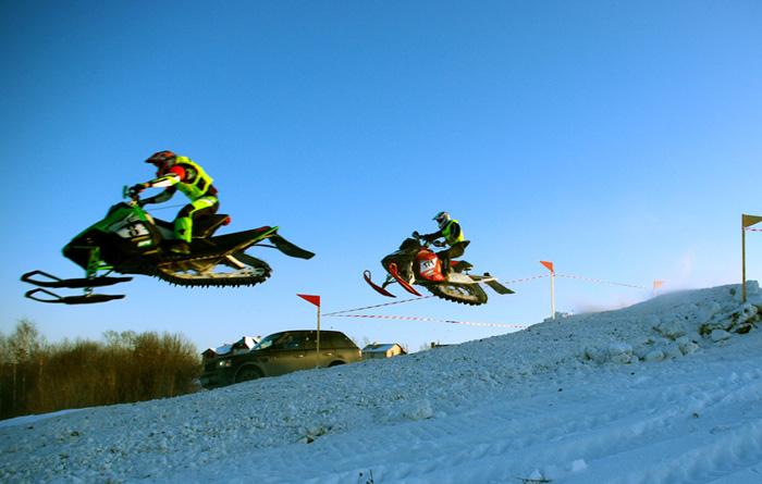 снегоходный фестиваль OpenKarelia