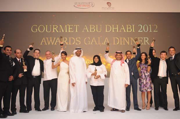 кулинарный фестиваль Gourmet Abu Dhabi 2012