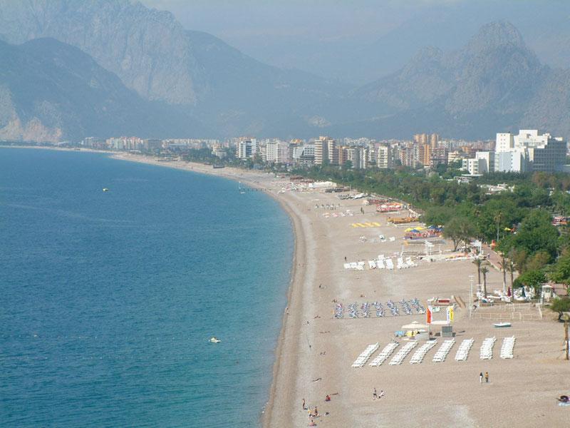 пляж анталии лара фото