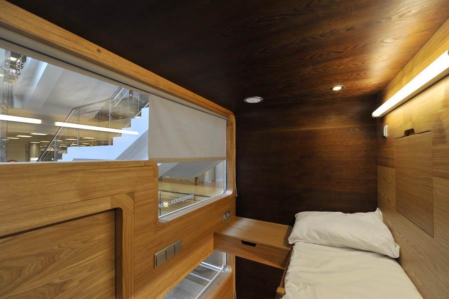 капсульная гостиница Sleepbox Hotel Tverskaya фото