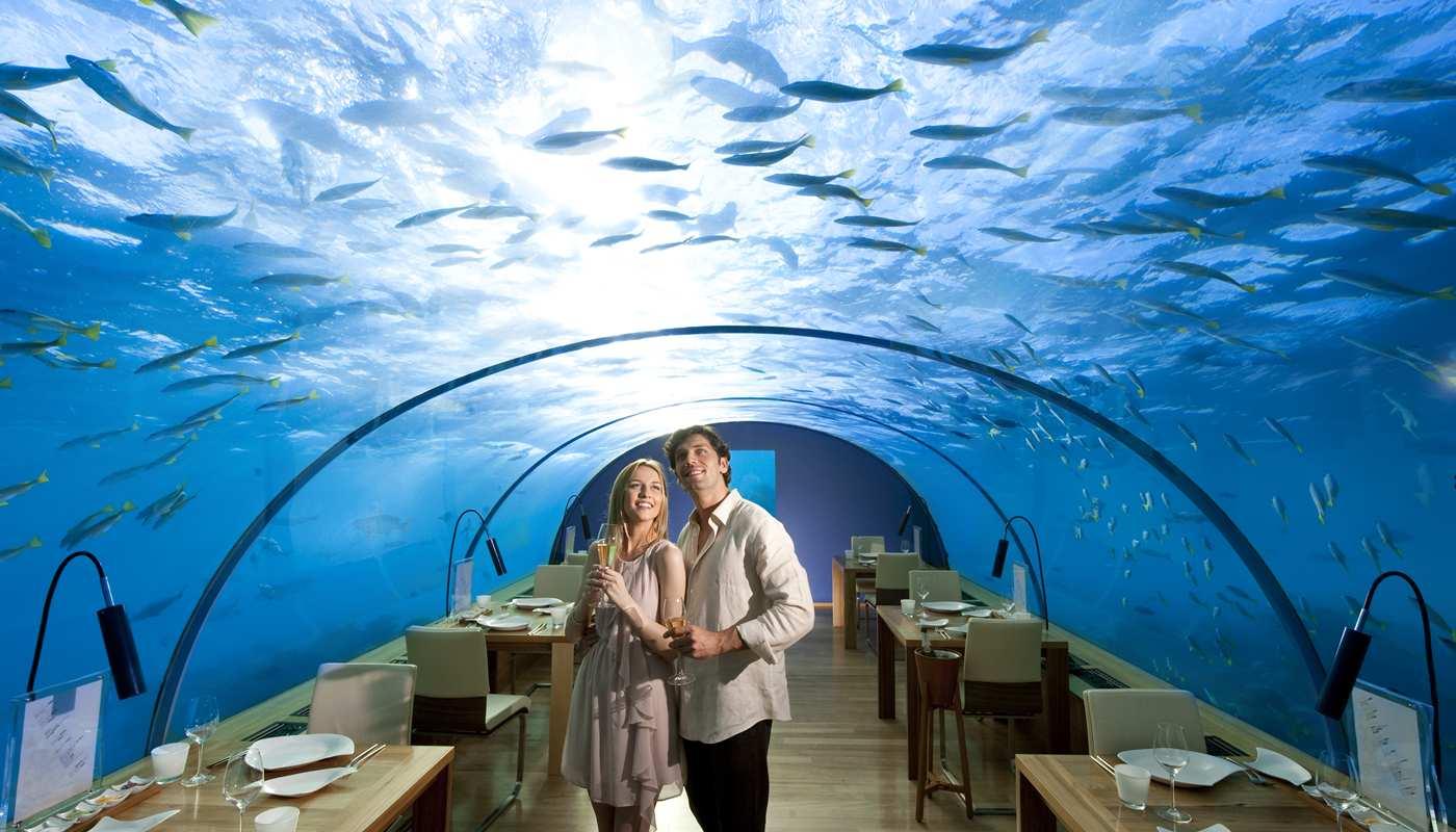 подводный отель на мальдивах фото