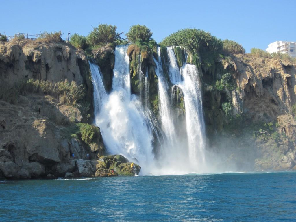 дюденский водопад в анталии фото