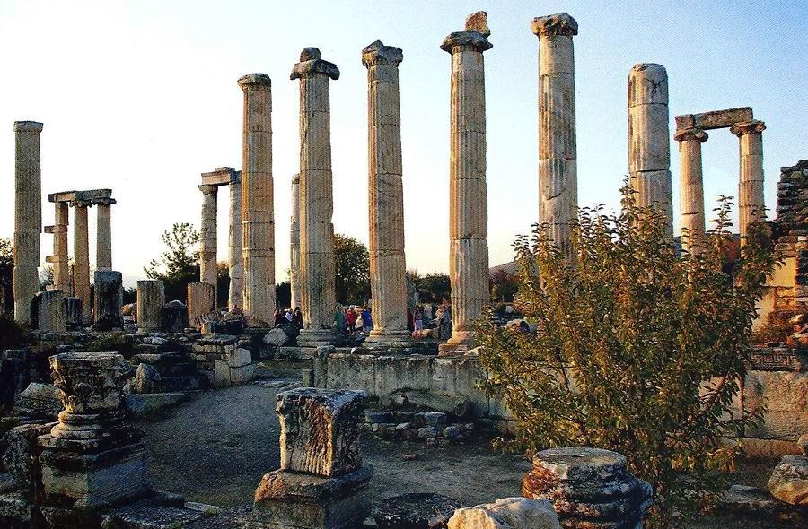 культурные памятники эгейского побережья фото