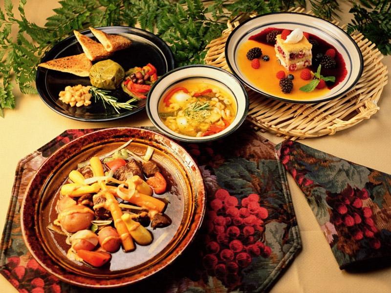 блюда национальной кухни Турции