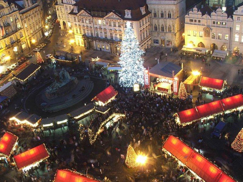 Староместская площадь в новый год