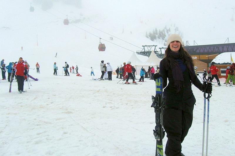 горные лыжи в саракамыше