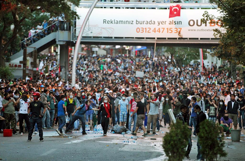массовые беспорядки в Турции