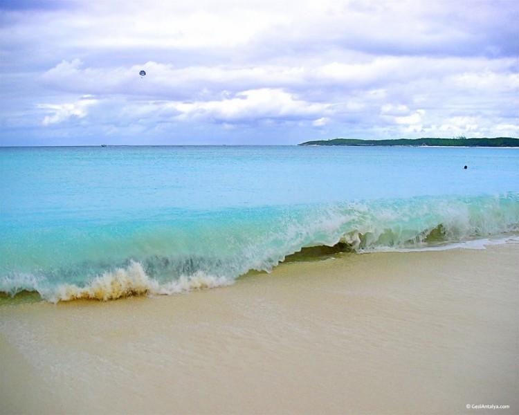 пляж курорта лара