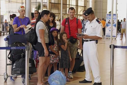 в аэропорту Каира