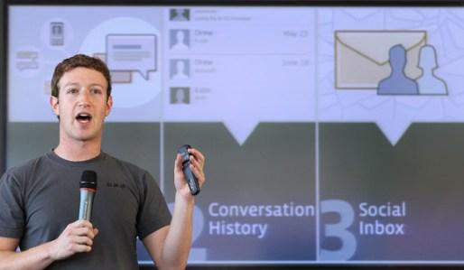 Марк Цукерберг рассказывает о Facebook at work