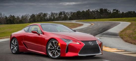 Lexus представил новый шоу-кар LC500