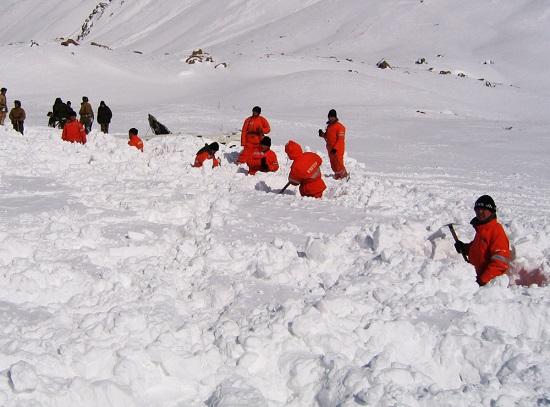 Что делать, если Вы попали под снежную лавину